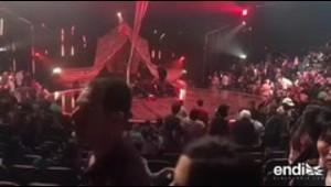 Un acróbata de Cirque du Soleil muere tras caer durante u...