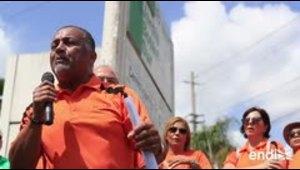 Profesores y empleados de la UPR se manifiestan frente a la presidencia