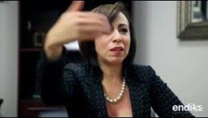 """Gabi Ortigoni es una """"borimex"""" al mando de la Camara Hispana"""