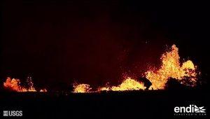 Impactantes las nuevas imágenes del volcán Kilauea en Hawaii