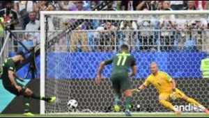 Australia sobrevive en el Mundial de Rusia 2018 al empata...