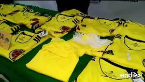 Impregnan cocaína en algunas camisetas del equipo colombiano de fútbol