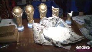 Argentina decomisa unas réplicas de los trofeos de la Copa Mundial con cocaína