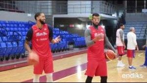 Comienzan con mucho ánimo las prácticas del Seleción Nacional de baloncesto