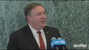 """Mike Pompeo pide """"aplicación completa de sanciones a Corea del Norte"""""""