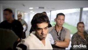 Las primeras imágenes tras el arresto del hombre que supu...