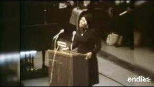"Aretha Franklin, la ""Reina del soul"" de Estados Unidos, e..."