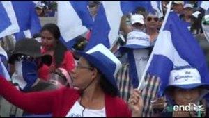 Miles piden salida de Ortega, a cuatro meses de protestas
