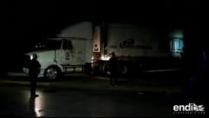 Polémica por un camión con 100 cadáveres sin identificar