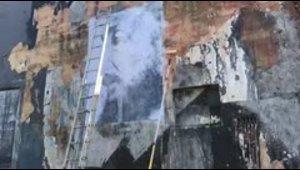 Timelapse: así fue la restauración del mural de Betances en Río Piedras