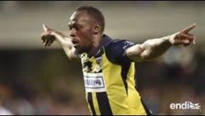 Otro hito para Usain Bolt en el fútbol