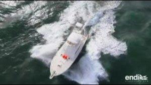 Voraz competencia de pesca en las aguas del océano Atlántico