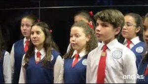 El Coro de Niños de San Juan deleita con la nostalgia nav...