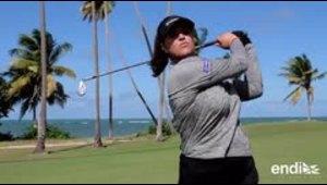 Emocionada con su futuro la primera boricua en el LPGA Tour
