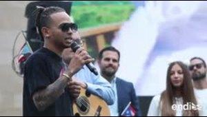 Ozuna agradecido con Puerto Rico por todo el apoyo