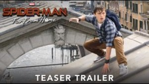 """Primer avance de """"Spider-Man: Far From Home"""""""