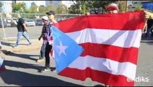 Protestas frente al Tribunal Federal contra el acuerdo de...