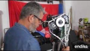 La visión de Eduardo Cabra hecha robot
