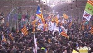 Huelgas, bloqueos y arrestos estremecen a Cataluña