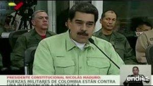 Nicolás Maduro anuncia el cierre de una frontera