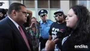 La comunidad de la UPR marcha en contra de la Junta de Su...