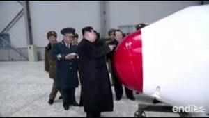 Kim Jong Un supervisa la prueba de una nueva arma táctica