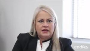 """Wanda Vázquez relata el """"calvario"""" que vivió durante su p..."""