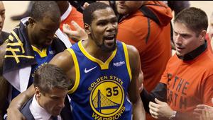 Inmenso el dolor de Golden State al perder a Kevin Durant