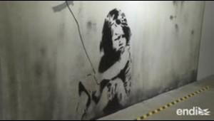 Reconstruyen varios murales de Banksy para exponerlos en...