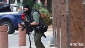 Reportan un tiroteo frente a un tribunal federal en Dallas