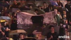 Una represión como la de Tiananmen en Hong Kong dañaría u...