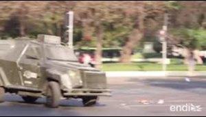 Decretan toque de queda ante protestas en Chile
