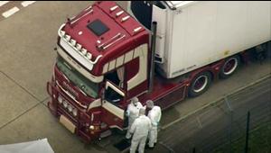 Horror en el Reino Unido: encuentran 39 cadáveres dentro de un camión