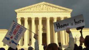 Caminan durante 16 días hasta la Corte Suprema para desafiar a Trump