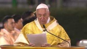 El mensaje del papa Francisco sobre la explotación sexual en Tailandia