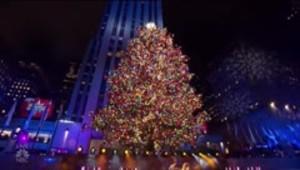 Se enciende la Navidad en el Rockefeller Center