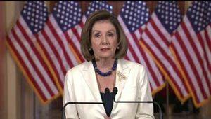 Pelosi anuncia la redacción de cargos para juicio político de Trump