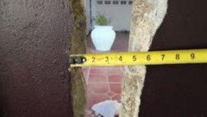Así se evalúan los daños del terremoto en las casas en Yauco