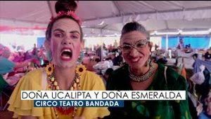 Teatreras brindan alegría a refugio en Peñuelas