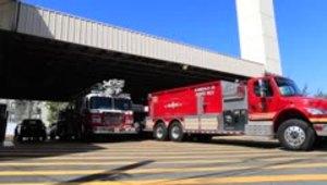 Visuales tras el cierre de estación de bomberos en Puerta de Tierra