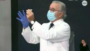 Preocupante error al usar guantes contra el COVID-19