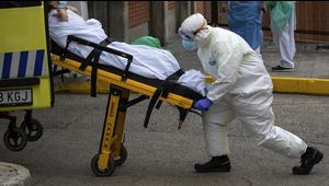 Sin tregua las muertes diarias por COVID-19 en España