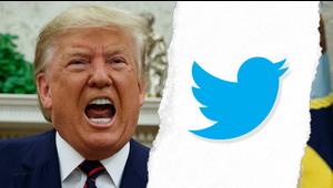 Explosiva pugna entre Trump y Twitter