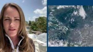 Deborah Martorell: intenso calor en Puerto Rico