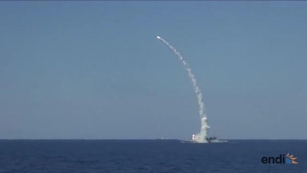 Rusia dispara misiles contra objetivos del EI
