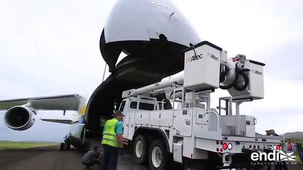 Llegan nuevos camiones comprados por la AEE