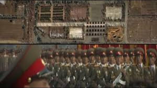 ¿Hay mensajes ocultos en los desfiles de Corea del Norte?