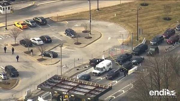 Las autoridades investigan un tiroteo en la entrada de la NSA