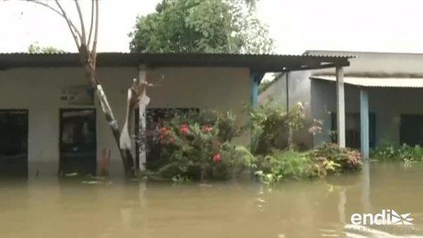 Más de 54,000 damnificados por las inundaciones en Colombia