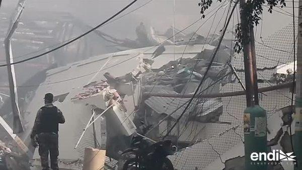 Tres muertos, 20 heridos en explosión en Santo Domingo